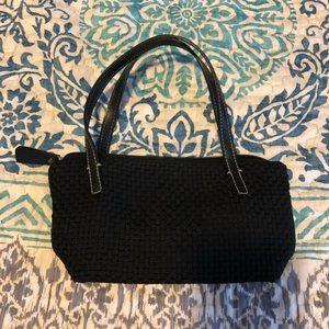 the sak small knit black purse purse 👛